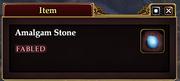 Amalgam Stone