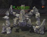 An enraged rubbler