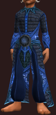 Occultist's Depopulating Robe (Equipped)