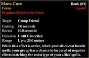 Templar AA - Mana Cure