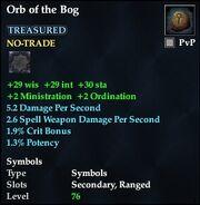 Orb of the Bog