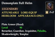 Demonplate Full Helm