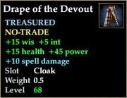 Drape of the Devout