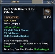 Hard Scale Bracers of the Othmir