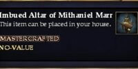 Imbued Altar of Mithaniel Marr