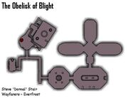 Obelisk of Blight map