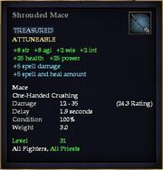 Shrouded Mace
