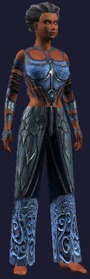 Blue dragon gi (Visible, Female)