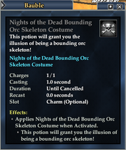 Nights of the Dead Bounding Orc Costume