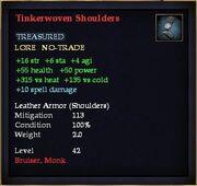 Tinkerwoven Shoulders