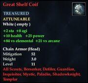 Great Shelf Coif