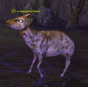 A corrupted fawn