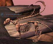 A skeletal blightstalker