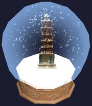 The Dervish Snowglobe (Visible)