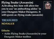 Flying Snake (Assassin)