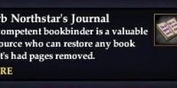 Jerb Northstar's Journal (House Item)