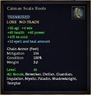 Caiman Scale Boots