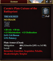 Curate's Plate Cuirass of the Battlepriest