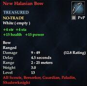 New Halasian Bow