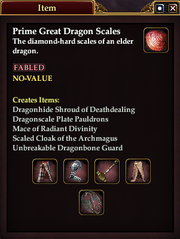 Prime Great Dragon Scales