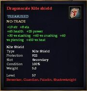 Dragonscale Kite shield