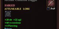 Archaic Combine Dagger