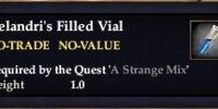 Geldrani's Filled Vial
