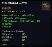 Stonestiched Gloves