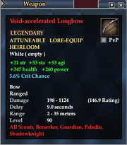 Void-accelerated Longbow