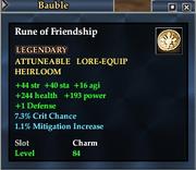 Rune of Friendship