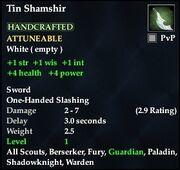 Tin Shamshir