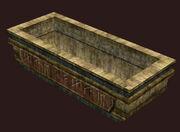 Vacant-sarcophagus