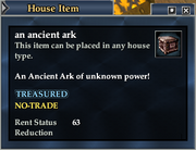An ancient ark