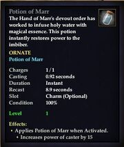 Potion of Marr