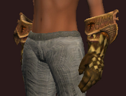 Elysian Cuffs of the Darkblade (Equipped)