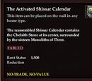 The Activated Shissar Calendar