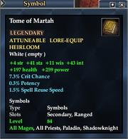 Tome of Martah