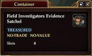 Field Investigator's Evidence Satchel
