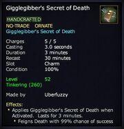 Gigglegibber's Secret of Death