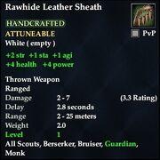 Rawhide Leather Sheath