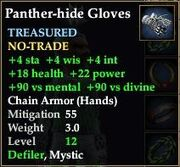 Panther-hide Gloves