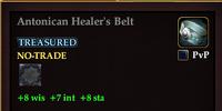 Antonican Healer's Belt