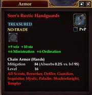 Seer's Rustic Handguards