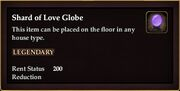 Shard of Love Globe