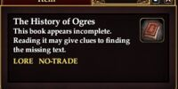 The History of Ogres (Quest Starter)