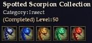 CQ insect spottedscorpion Journal