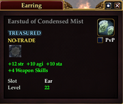 Earstud of Condensed Mist