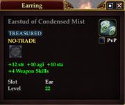 Earstud of Condensed Mist
