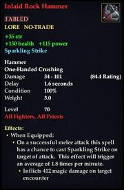Inlaid Rock Hammer