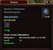 Shade's Nebulous Shoulderpads